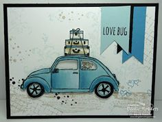 Inking Idaho: features Stampin Up's Beautiful Ride stamp set and Timeless Textures stamp set found in the 2016 Occasions catalog