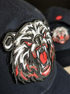 「BonesFreak」Bear Sakebi Snapback Cap. 9f31d1304e9