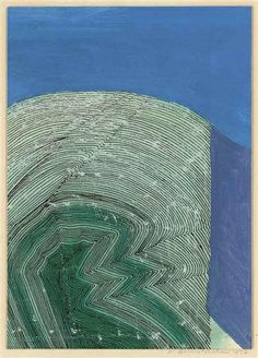 View Glacier Face By Wilhelmina Barns-Graham; oil, pen and ink on board; Access more artwork lots and estimated & realized auction prices on MutualArt. Landscape Paintings, Landscapes, St Ives Cornwall, Water Drawing, Action Painting, Postmodernism, Community Art, Female Art, Art History