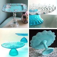Something Blue: Vintage & Handmade Cake Stands