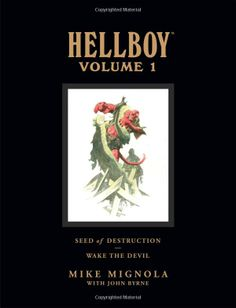 Hellboy Library Edition, Volume 1: Seed of Destruction and Wake the Devil: Mike Mignola, John Byrne: 9781593079109: Amazon.com: Books