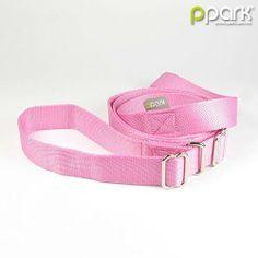 Limited Slip Leash - Pale Pink - Medium - http://www.thepuppy.org/limited-slip-leash-pale-pink-medium/
