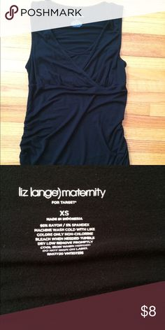 Nursing tank Liz Lange maternity/nursing tank top. Excellent condition! Xs Liz Lange Tops Tank Tops