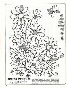 Paper Quilling Quilt Patterns Free   Пример схемы для создания цветочного ...