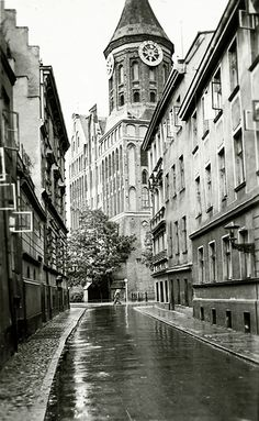 После дождя...1930-е !