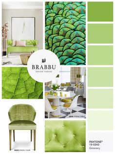 Pantone, The Color Authority, Reveled Yesterday The Hue That Will Color  Greenery. Find Here How To Decorate With Greenery, Pantone Color Of The Year