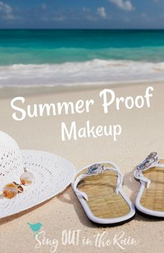 Natural, simple, sun kissed summer makeup looks ARE achievable. Whether going to the beach or the pool - here are the products that\'ll give you sweat-proof, perfect makeup that\'ll last thru your entire day.   #summer #makeup #senegence #summermakeup #summerproof #beachready