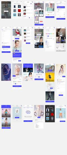 8 best Mobile UI UX Kits  App Design Templates images on Pinterest
