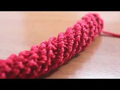 How to Crochet Spiral Cord for Beginners with Step by Step Tutorial for Purse Handle Crochet I Cord, Bracelet Crochet, Spiral Crochet, Crochet Mandala Pattern, Crochet Shell Stitch, Bead Crochet, Crochet Patterns, Crochet Bag Tutorials, Crochet Instructions
