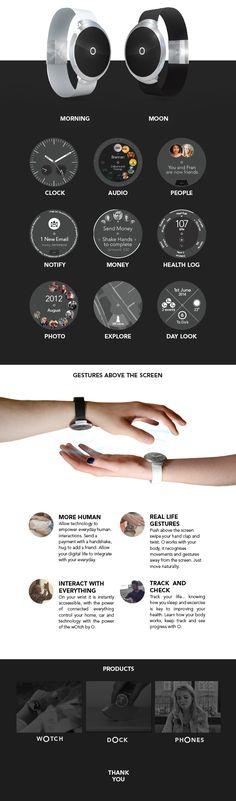 Apple Owatch - Future Smartwatch on Behance