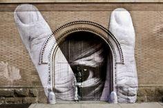 J.R Eye Wall Street Art