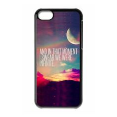 Perks of Being A Wallflower Plastic Case/Cover FOR Apple iPhone 5C, Hard Case Black/White MakersHouse,http://www.amazon.com/dp/B00FYOZQMO/ref=cm_sw_r_pi_dp_QQ3Gtb1YTJDW2XYX