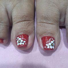 Pedicure Designs, Nail Designs, Nail Art Videos, Gorgeous Feet, Toe Nails, Nail Polish, Pretty Pedicures, Feet Nails, Nail Arts