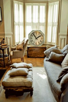 David Gandy's home is furnished with a collection of antiques and fabrics from Savile Row.