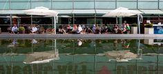 Kiasma terrace - in my experience: the best sun bathing terrace in helsinki