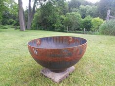 Compass Sculptural Firebowl by John T. Unger - John T. Pool Furniture, Modern Outdoor Furniture, Fire Pit Size, Fire Pits, Rustic Style, Modern Rustic, Constellations In The Sky, Plastic Lumber, Castle Series