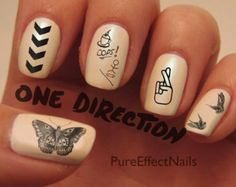 one direction tattoo ideas- I would leave the pinkie blank for Niall ;)