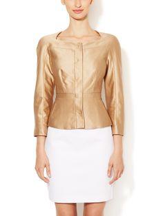Hepburn Silk Fitted Jacket from L.K. Bennett Apparel on Gilt