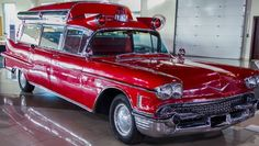 58 Cadillac Ambulance
