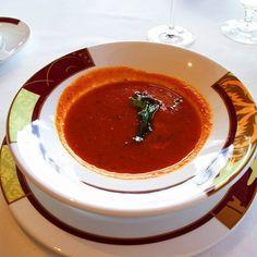 Delicious tomato soup at Palo onboard the Disney Fantasy. #disney #disneycruise #disneycruiseline #palo #vegan #veganfoodporn #veganfoodpics #foodpics #foodporn #cruise #kreuzfahrt #travel #traveling #reise #reisen #urlaub #vacation #throwback #latergram #fun #greattimes #soup  Yummery - best recipes. Follow Us! #veganfoodporn