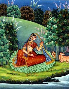 Pahari school of paintings - An art of Himalayan range