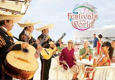 LIVE IT UP AT THE FESTIVALS OF THE WORLD on Princess Cruises Experience grand traditions and colorful cultures with the Festivals of the World celebrations and cruise ship activities! Depending on where you sail, you might experience:  Rio's Carnival Carnaval de Panama Oktoberfest Mardi Gras Klondike Festival Mexican Fiesta Carnevale Di Venezia King Kamehameha Festival Matariki Festival Midsommarfest Celtic Festival click image to find a travel agent near you.