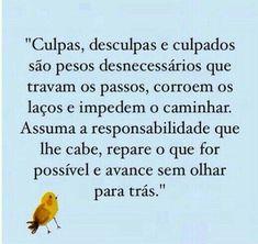 CULPAS DESCULPAS E CULPADOS