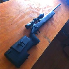 Remington 700 w/ aftermarket stock