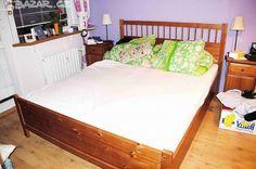 2000 Praha 160, matrace? Prodám postel z masivu, rozměry 1600 x - obrázek číslo 1
