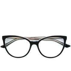 Dior Eyewear Montaigne 25 Glasses (€270) ❤ liked on Polyvore featuring  accessories, eyewear, black, christian dior glasses, christian dior  eyewear, ... f8382323c0
