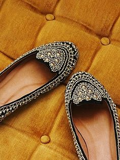 Jeffrey Campbell flats. If ya gotta wear flats, they might as well be bedazzled.