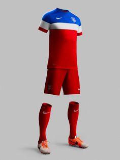 USA 2014-15 Nike Away