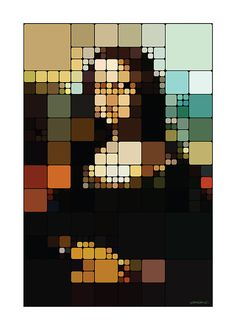 Mona Lisa Stained