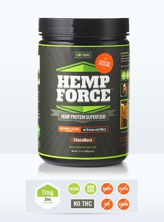 Looks like an interesting product (Have not tried it; pinning for a giveaway) Hemp FORCE™ - Cocoa, Maca, and Hemp Protein Hemp FORCE utilizes a rich and complete protein isolated from organic hemp seeds. Protein Powder Shakes, Hemp Protein Powder, Protein Shakes, Protein Powder Reviews, Organic Hemp Seeds, Paleo, Isolate Protein, Protein Supplements, Vegan Protein