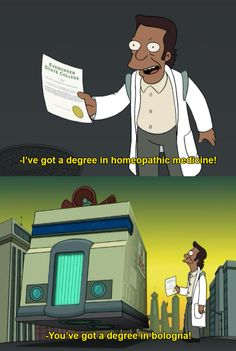 futurama shows its roots in Evergreen