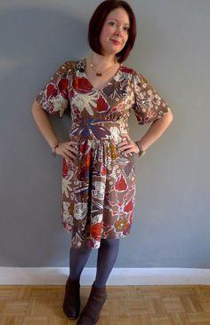 Simplicity 1801 – My Winter Summer Dress