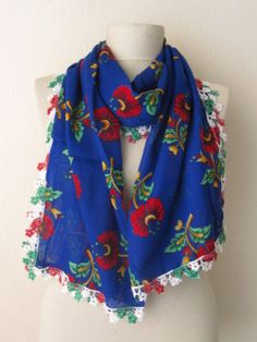 Traditional  Turkish Flowers  Fabric Rectangle  Guipure  by asuhan, $15.00