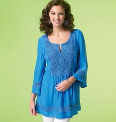 McCall's 712 Misses Tops and Tunics