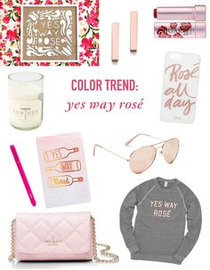 Color Trend: Yes Way Rosé // Twin Stripe Blog