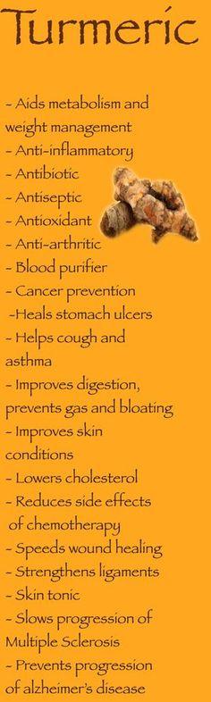 Cúrcuma: Benefícios para a saúde.