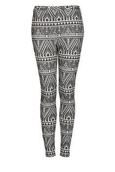 0dd3399998d2b love printed leggings Aztec Pants, Aztec Print Leggings, Treggings, White  Trousers, Skinny