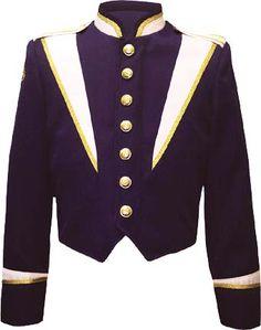 #marching band uniform jacket