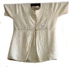 Weiße halboffene Damen #Bluse #Sommerbluse kurzarm 100% #ökologische Pima #Baumwolle #Biobaumwolle