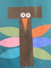 Q-Z , the vintage umbrella: Preschool Alphabet projects. Q-Z , the vintage umbrella: Preschool Alphabet projects. Letter T Activities, Preschool Letter Crafts, Alphabet Letter Crafts, Abc Crafts, Preschool Projects, Classroom Crafts, Preschool Activities, Alphabet Book, Letter Art