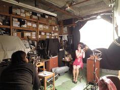 Film shoot with Joel Schlemowitz