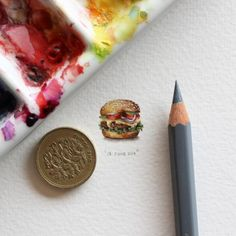 '365 postcards for ants', las pinturas de Lorraine Loots (Yosfot blog)