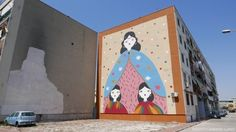 Due nuove opere di street Art a Castello di Cisterna e a Ponticelli, firmate da una giovane artista cagliaritana La Fille Bertha Opera, Street Art, Family Guy, Fictional Characters, Artist, Opera House, Fantasy Characters, Griffins