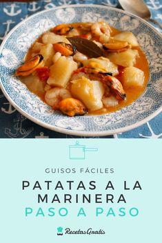 Patatas Guisadas, Tapas, Cantaloupe, Salad Recipes, Food And Drink, Veggies, Gluten, Beef, Fish