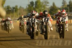 Kenny Coolbeth Jr. race action shot