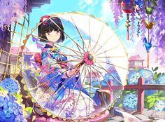 Imagem de anime, anime girl, and art